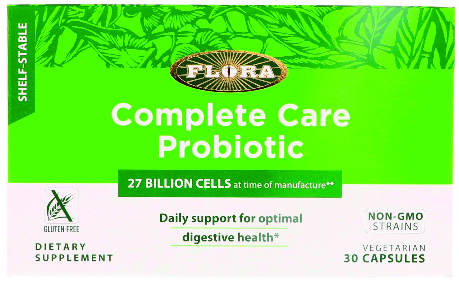 Complete care probiotik za uravnavanje črevesne flore.