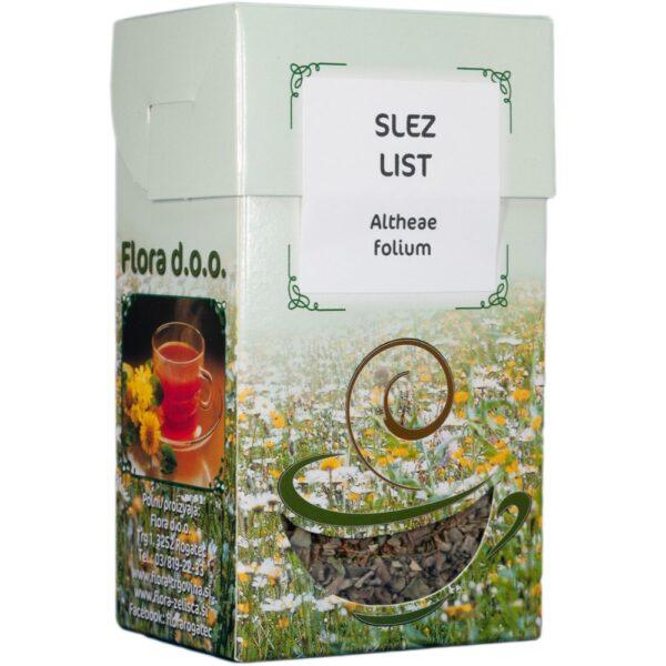slez list čaj