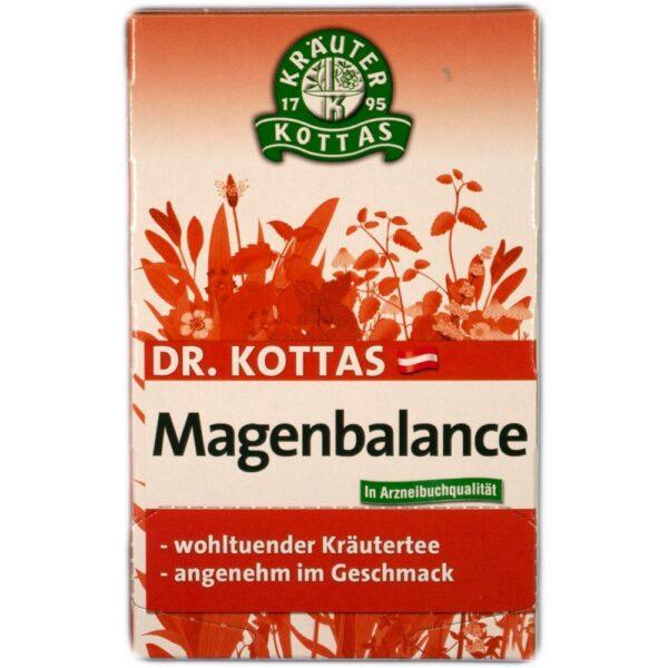 Magenbalance je čajna mešanica, ki med obrokom dopolnjuje delo želodca, lajša krče in napihnjenost ter uravnava prebavo in pripomore k boljšemu spancu.