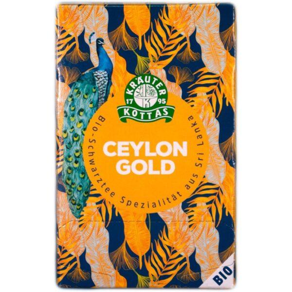 BIO Ceylon je najboljcenjeni črni čaj, ki prihaja iz Šri Lanke. Odlikuje ga nežna aroma in močno bakrena barva.