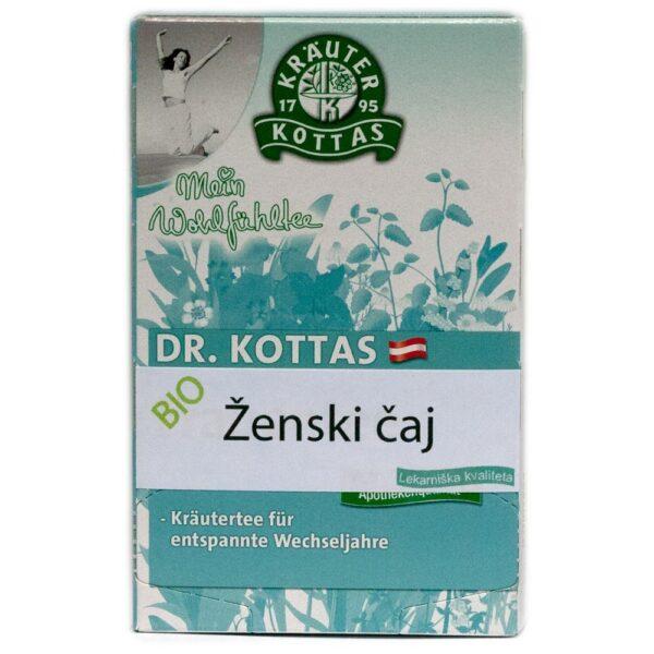 Ženski čaj med drugim vsebuje plahitco, ki pripomore k boljšemu počutju pred in med menstruacijo.
