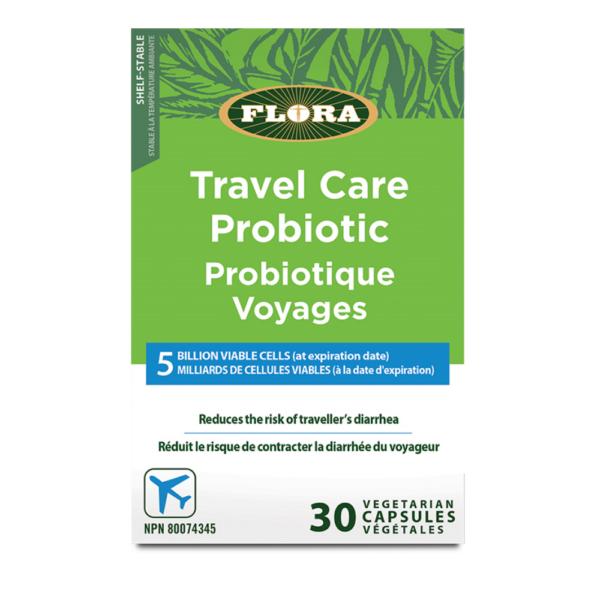 Travel care probiotik za potovanja 30 kapsul
